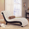 Coaster Fine Furniture Beige Chaise