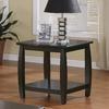 Coaster Fine Furniture Cappuccino Square End Table