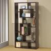 Coaster Fine Furniture Cappuccino 35.5-in W x 70.75-in H x 11.5-in D 10-Shelf Bookcase