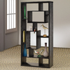 Coaster Fine Furniture Black 31.5-in W x 66.75-in H x 11.75-in D 10-Shelf Bookcase