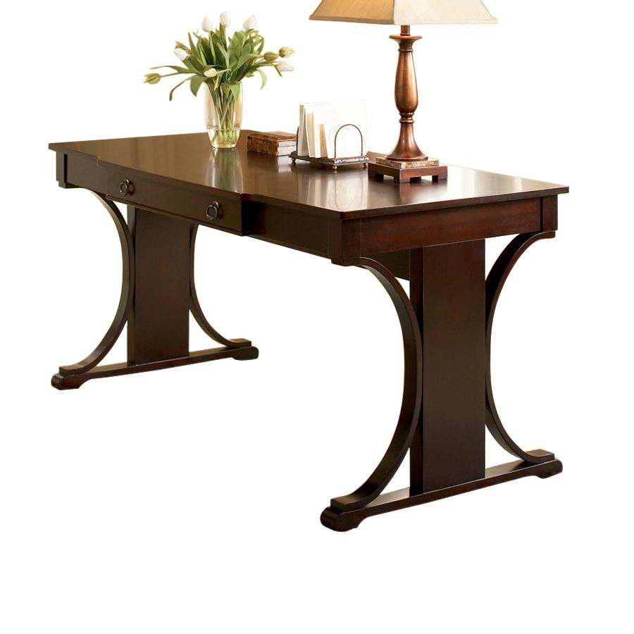Shop Coaster Fine Furniture Dark Cherry Writing Desk At