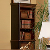Coaster Fine Furniture Gorman Black/Cherry 36.5-in W x 82.75-in H x 18-in D 3-Shelf Bookcase
