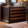 Coaster Fine Furniture Gorman Black/Cherry 4-Drawer File Cabinet