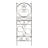 ACHLA Designs Ferro Firenze 22-in W x 65.5-in H Roman Bronze Scroll Trellis