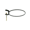 ACHLA Designs 8-in Wrought Iron Flower Pot Mounting Ring