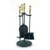 ACHLA Designs 4-Piece Fireplace Tool Set