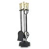 ACHLA Designs 5-Piece Fireplace Tool Set