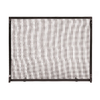 ACHLA Designs 38-in Graphite Iron Flat Fireplace Screen