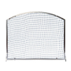ACHLA Designs 36-in Brushed Steel Iron Arched Fireplace Screen