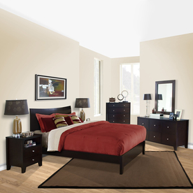 Lifestyle Solutions Canova Cappuccino King Bedroom Set