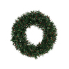 Vickerman 30-in Pre-Lit Pine Artificial Christmas Wreath with Red Incandescent Lights