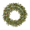Vickerman 36-in Pre-Lit Artificial Christmas Wreath with White Incandescent Lights