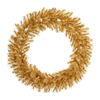 Vickerman 30-in Pre-Lit Cashmere Artificial Christmas Wreath with White Incandescent Lights