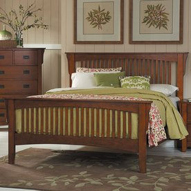 Homelegance Danville Brown Oak Queen Bed