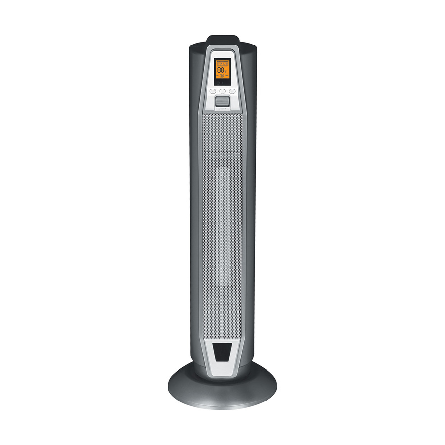 Shop Sunpentown Ceramic Tower Electric Space Heater with Thermostat at