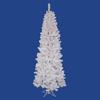 Vickerman 5.5-ft Pre-Lit Pine Slim Artificial Christmas Tree with Multicolor Incandescent Lights