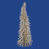 Vickerman 5-ft Pre-Lit Whimsical Slim Artificial Christmas Tree with White Incandescent Lights