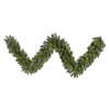 Vickerman 14-in x 9-ft Pre-Lit Grand Teton Artificial Christmas Garland with Multicolor LED Lights