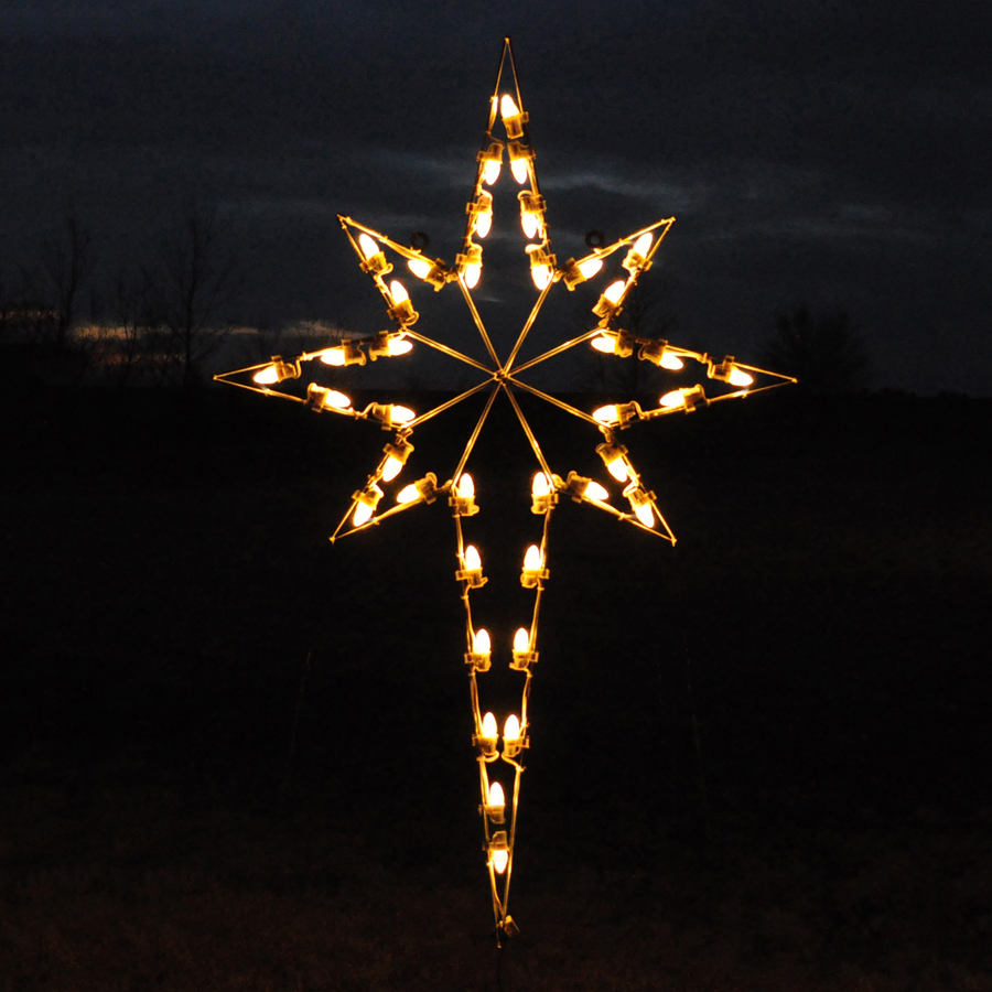 Christmas Decorations Outdoor Star : Holiday lighting specialists ft star of