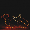 Holiday Lighting Specialists 4-ft Resting Camel Outdoor Christmas Decoration with LED Multicolor Lights