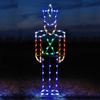 Holiday Lighting Specialists 7.83-ft Toy Soldier Outdoor Christmas Decoration with LED Multicolor Lights
