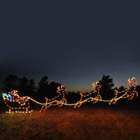 shop holiday lighting specialists santa sleigh. Black Bedroom Furniture Sets. Home Design Ideas