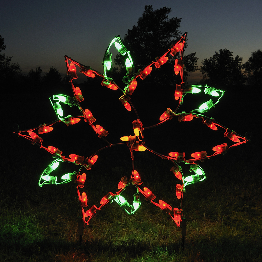 Enlarged image for Christmas lights and decorations