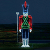 Holiday Lighting Specialists 16-ft Toy Solider Outdoor Christmas Decoration with LED Multicolor Lights