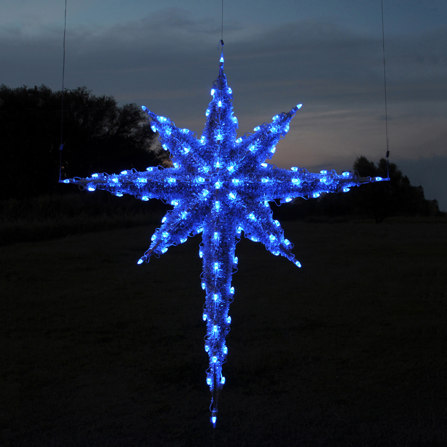 North star christmas lights