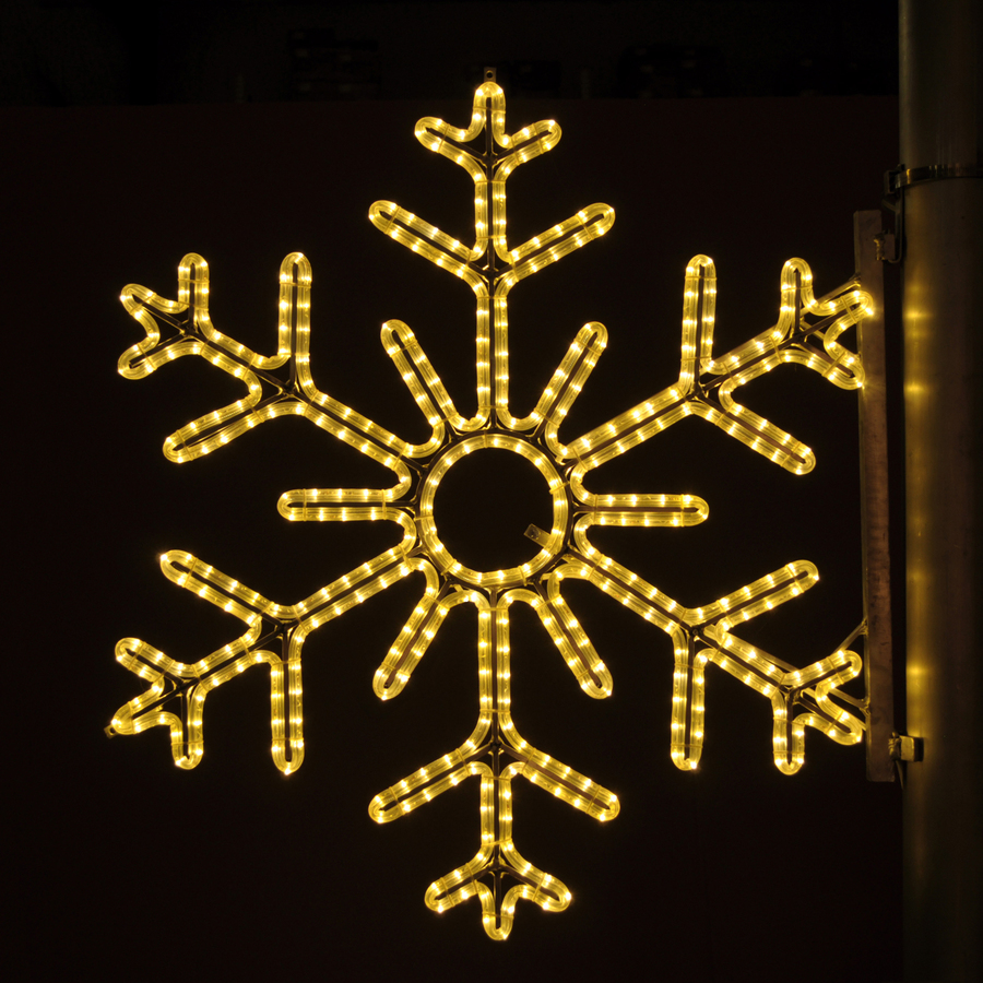 ... Pole Decoration Outdoor Christmas Decoration with LED White Lights at