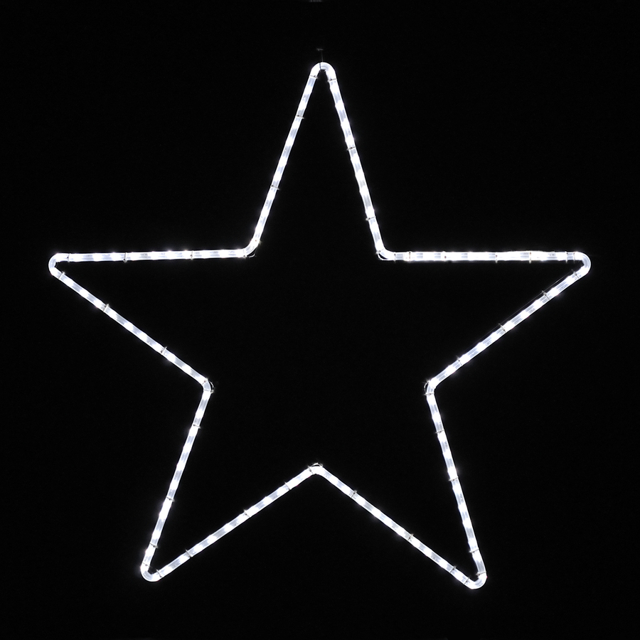 Shop holiday lighting specialists large point star for Christmas star outdoor lights decorations