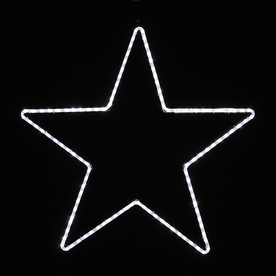Shop Holiday Lighting Specialists 3.25-ft Large Point Star Outdoor