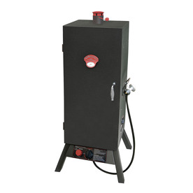 Landmann USA Smoky Mountain 20-Lb. Cylinder Push and Turn Ignition Gas Vertical Smoker (Common: 43-in; Actual: 43.25-in)