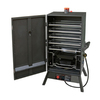 Landmann USA Smoky Mountain Push and Turn Ignition Gas Vertical Smoker (Common: 45-in; Actual: 45.25-in)