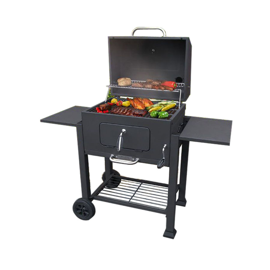 shop landmann usa barrel charcoal grill at. Black Bedroom Furniture Sets. Home Design Ideas