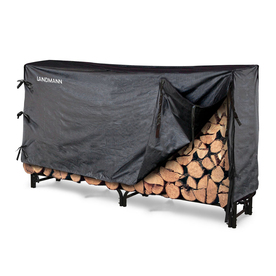 Landmann USA Metal Firewood Storage with Cover