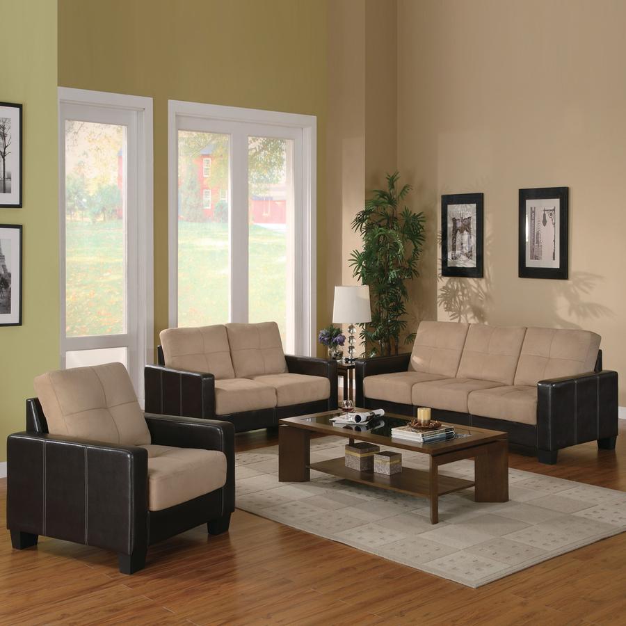 Shop Coaster Fine Furniture 3 Piece Regatta Beige Living