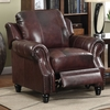 Coaster Fine Furniture Princeton Dark Brown Accent Chair
