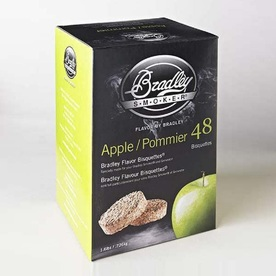 Bradley 48-Pack 1.6-lbs Apple Wood Chips