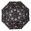 "Laura Ashley Garden 2'1"" Isodore Charcoal Round Patio Umbrella"
