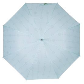 Laura Ashley Garden 2-ft 3-in x 2-ft 3-in Duck Egg Round Patio Umbrella