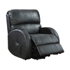 Coaster Fine Furniture Black Recliner