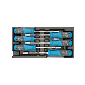 Gedore 6-Piece Metric Hex Nut Driver Set