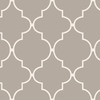 allen + roth Taupe Peelable Vinyl Prepasted Textured Wallpaper