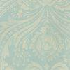 allen + roth Teal Strippable Non-Woven Paper Unpasted Classic Wallpaper