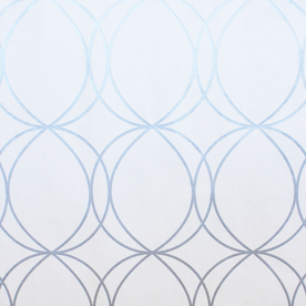 EAN 5011583135602 Product Image For Allen Roth White Silver Strippable Vinyl Unpasted Textured Wallpaper