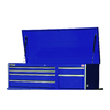 International Tool Storage Value 19.1-in x 55.5-in 6-Drawer Ball-Bearing Steel Tool Chest (Blue)