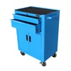 Excel 37.2-in x 26-in 2-Drawer Ball-Bearing Steel Tool Cabinet (Blue)