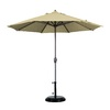 California Umbrella Antique Beige Market Patio Umbrella (Common: 9-ft W x 9-ft L; Actual: 9-ft W x 9-ft L)
