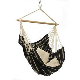 Byer of Maine Amazonas Brazil Mocha Fabric Hammock Chair